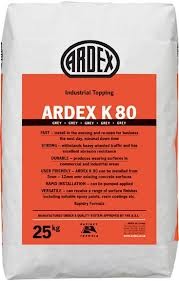 Ardex K80 Rapid Drying Wearing Surface – 25Kg Bag