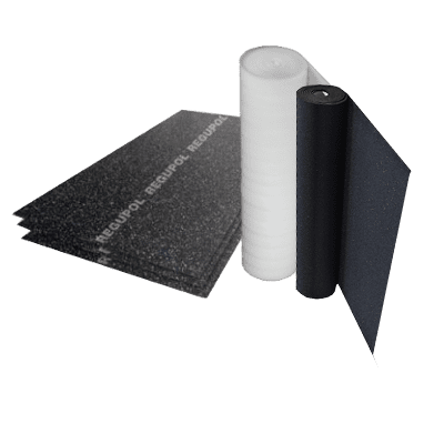 Under Screed Acoustic Membranes