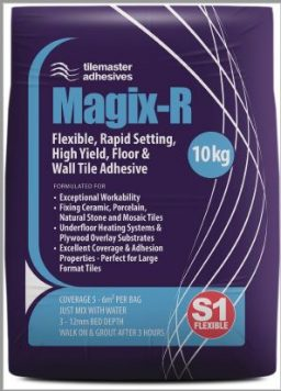Tilemaster Adhesives Magix - Wall & Floor Tile Adhesive, great workability