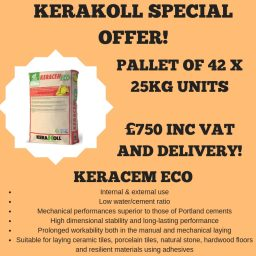 Keracem Eco -Pallet Offer